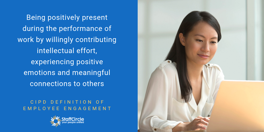 Definition Employee Engagement